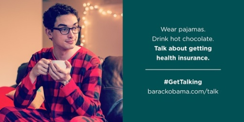 PajamaBoy says talk about insurance