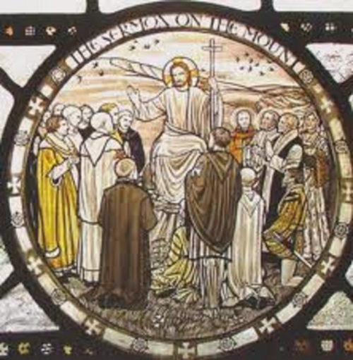 Sermon on the Mount window
