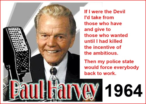 1964 Paul Harvey on Redistribution