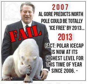 2013 Al Gore FAIL