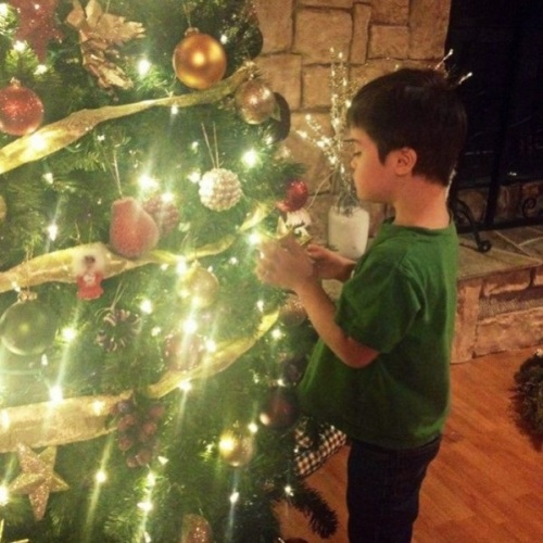 2013 Trig Palin decorating Cmas tree