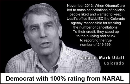 2013_11 CO Sen Udall bullied agency to change report