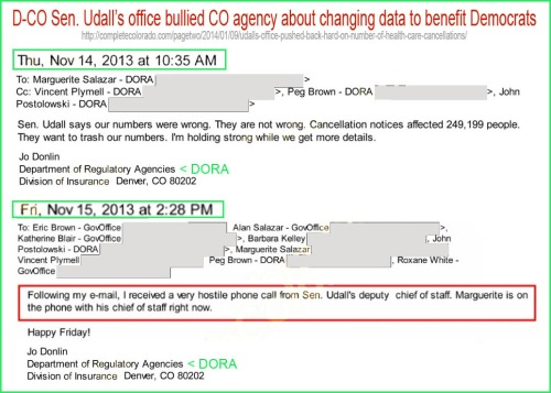 2013_11 Emails re Udall bullying