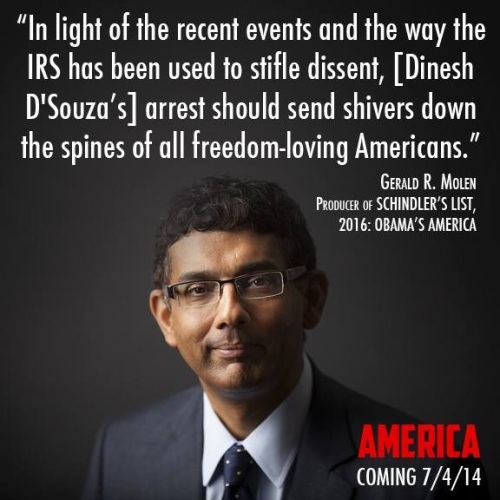 2014_01 25 D'Souza's arrest should send shivers