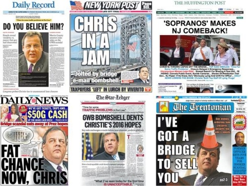 2014_01 Bridgegate media frenzy