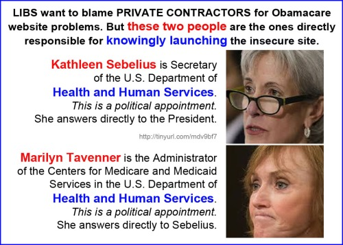 2014_01 Sebelius and Tavenner launched insecure site
