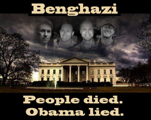 Benghazi victims over WH