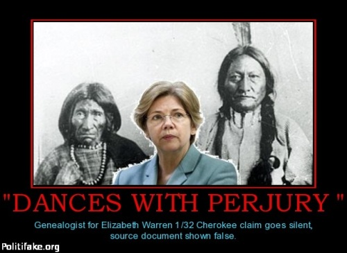 Elizabeth Warren Dances with Perjury