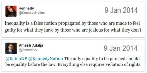 Equality tweets