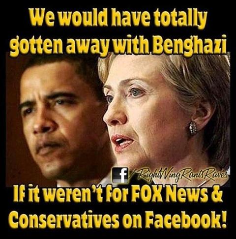 Getting away with Benghazi
