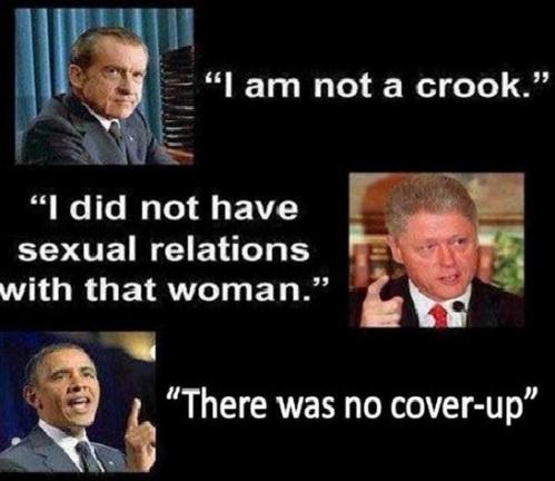 Lying presidents