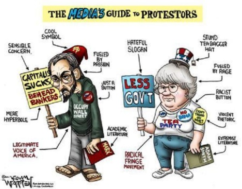 Media guide to protesters