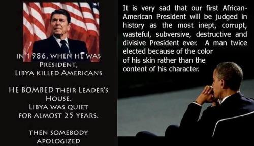 Reagan v Obama