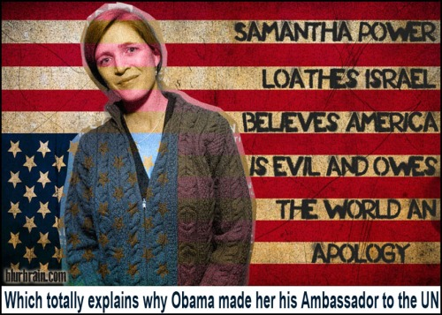 2013_08 Samantha Power Leftist all the way