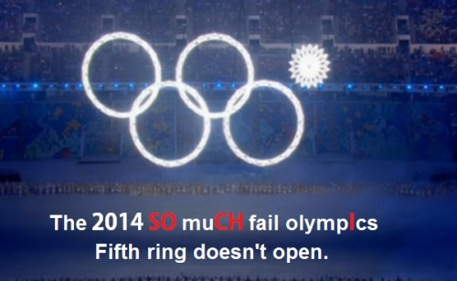 2014 SOCHI Ring doesn't open