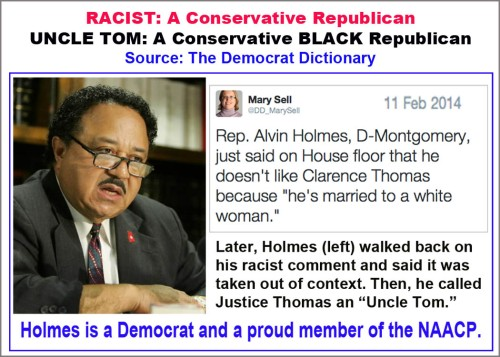 2014_02 11 Racism in Democrat Dictionary