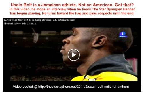 2014_02 14 Jamaican athlete respects US anthem