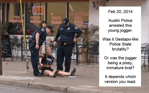 2014_02 20 Austin PD arrests jogger
