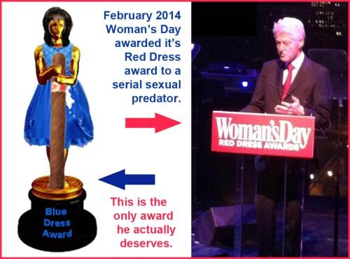 2014_02 Clinton deserves BLUE dress award