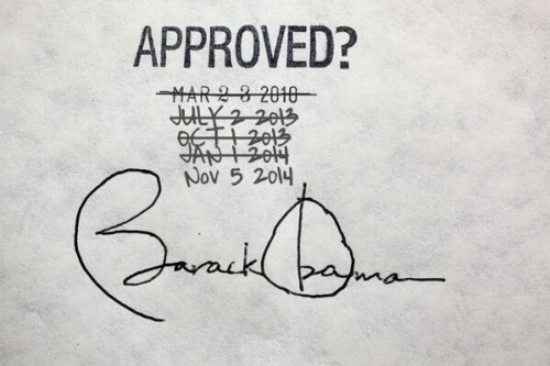 2014_02 Latest ObamaCare delay