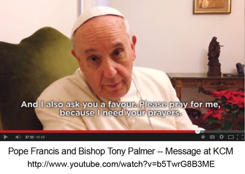 2014_02b Pope Francis - Pray for me