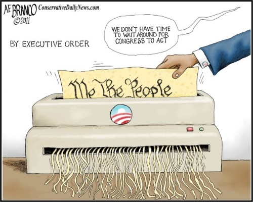 BHO shredding Constitution