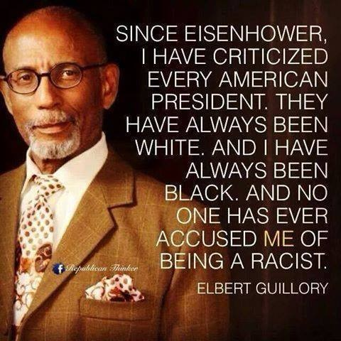 Guillory not a racist