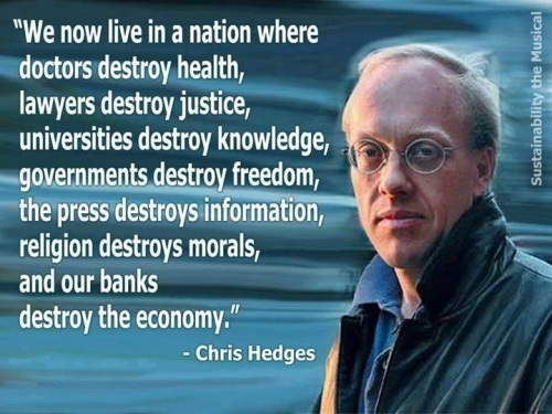 Hedges sums it all up