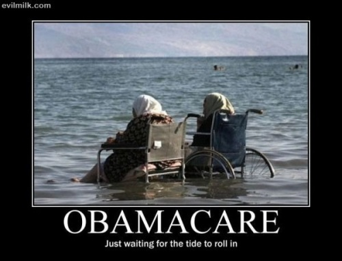 OBAMACARE Old people waiting to die