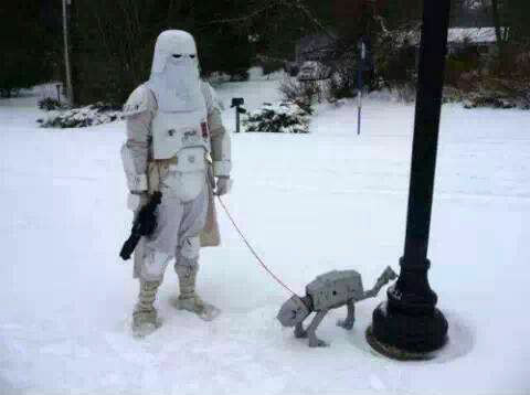 SNOW and Star Wars