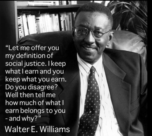 Social Justice - Walter E Williams