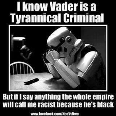 Vader and racism