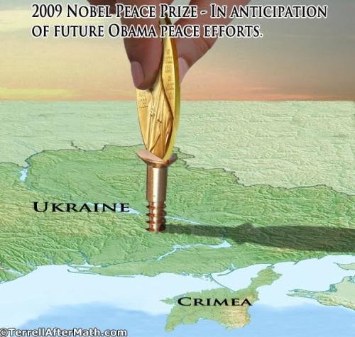 2009 Nobel and Ukraine by Terrell