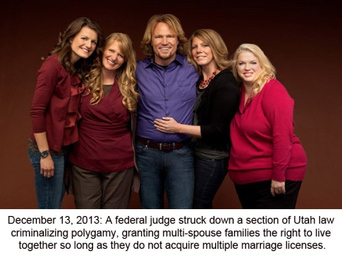 2013_12 Sister wives win case