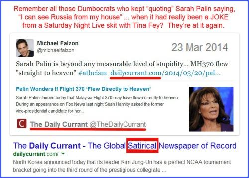 2014_03 23 Progs believe Palin satire is real