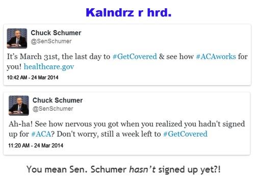 2014_03 24 Schumer tweet DOUBLE FAIL