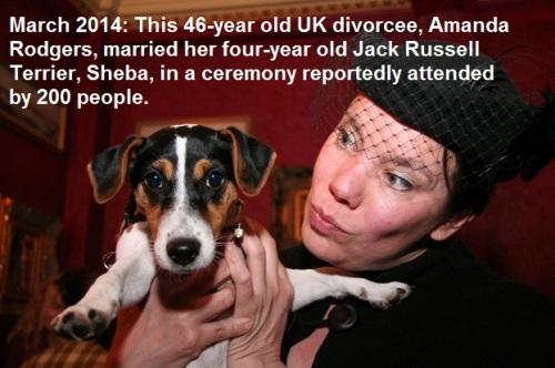 2014_03 Brit marries her dog