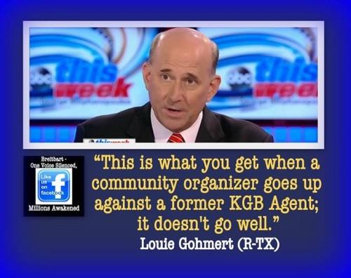 Community organizer vs KGB