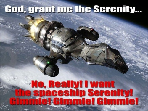 FIREFLY God grant me Serenity