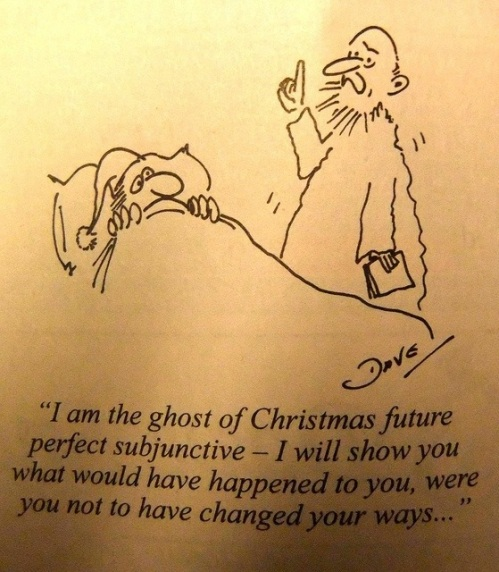 GRAMMAR Ghost of Christmas future perfect subjunctive