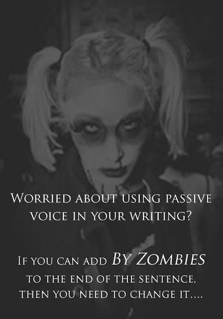GRAMMAR Passive voice - Zombies