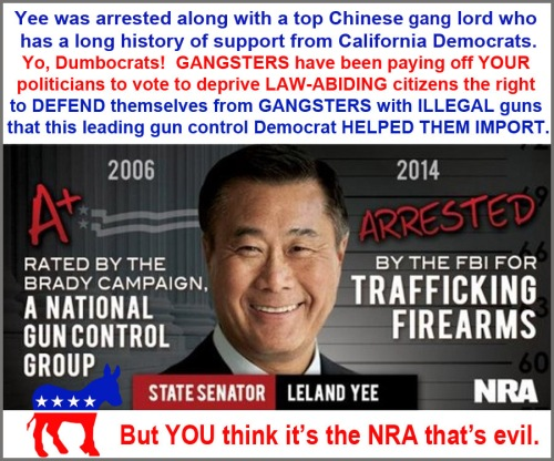 Leland Yee and gun control