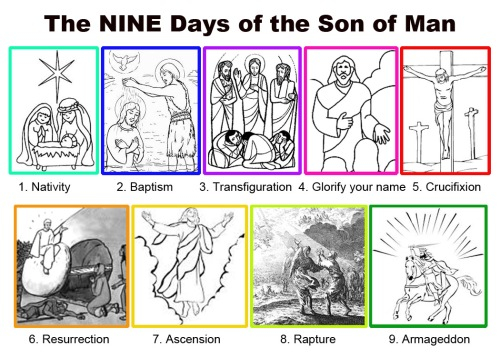 NINE days of the Son of Man