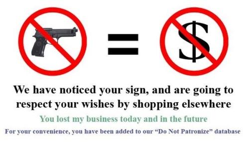 No gun = No money