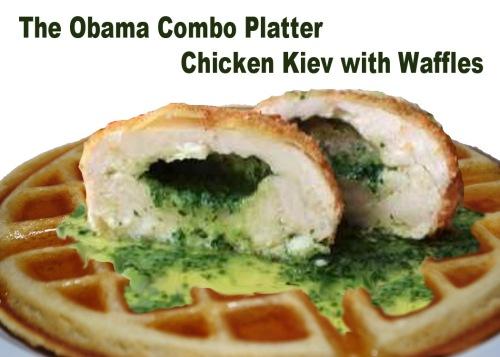 Obama combo platter
