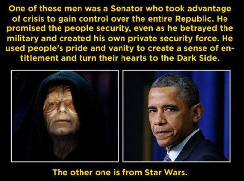 Obama vs Star Wars