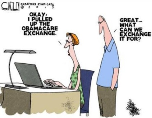 Obamacare exchange