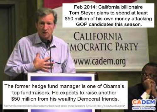 2014_02 Tom Steyer - Billionaire Dem