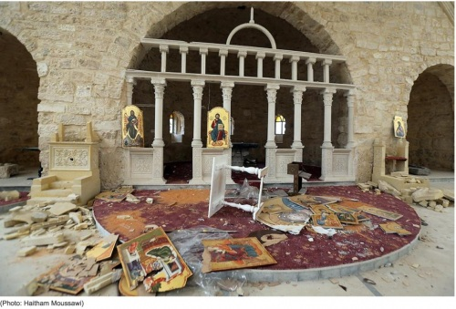 2014_04 01 Church smashed - Syria
