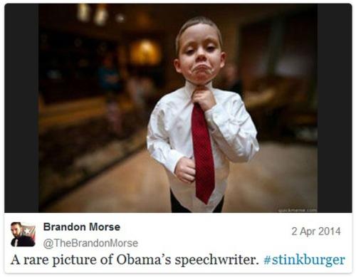 2014_04 02 Obama's juvenile speech